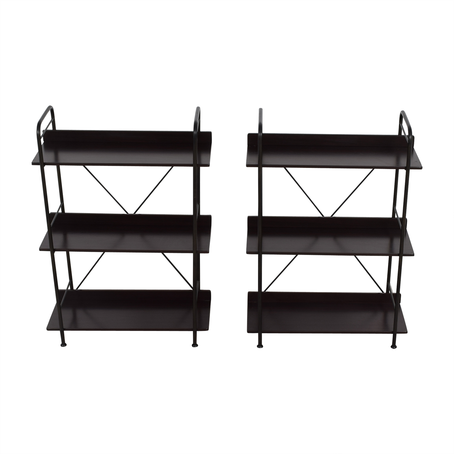 IKEA IKEA Black Bookcases or Storage Shelves on sale