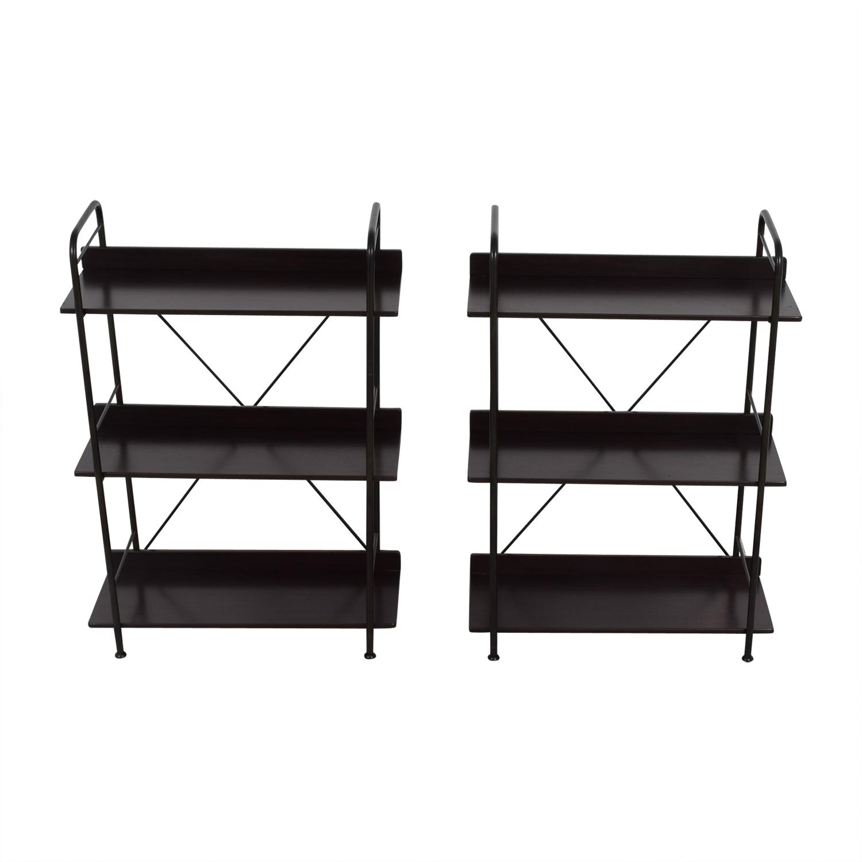 buy IKEA IKEA Black Bookcases or Storage Shelves online