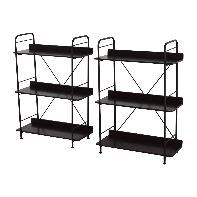 IKEA Black Bookcases or Storage Shelves IKEA