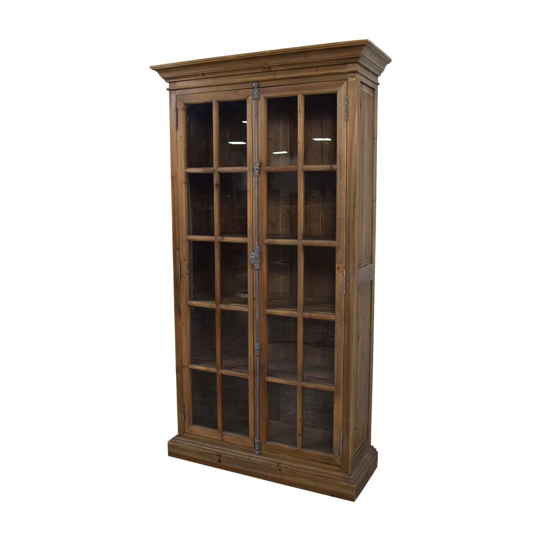 Chorus Theory Chorus Theory Glass Armoire Bookcases & Shelving