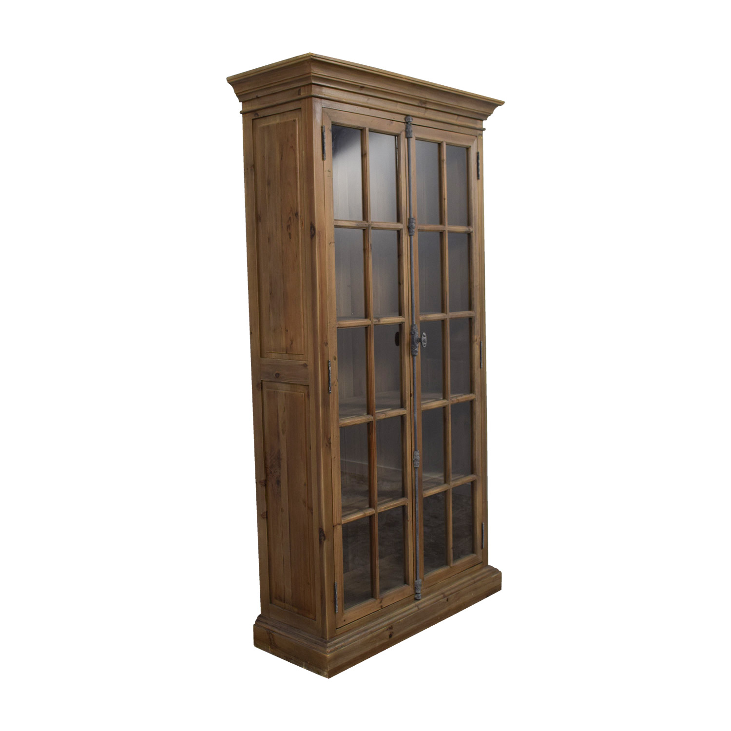 Chorus Theory Glass Armoire / Sofas
