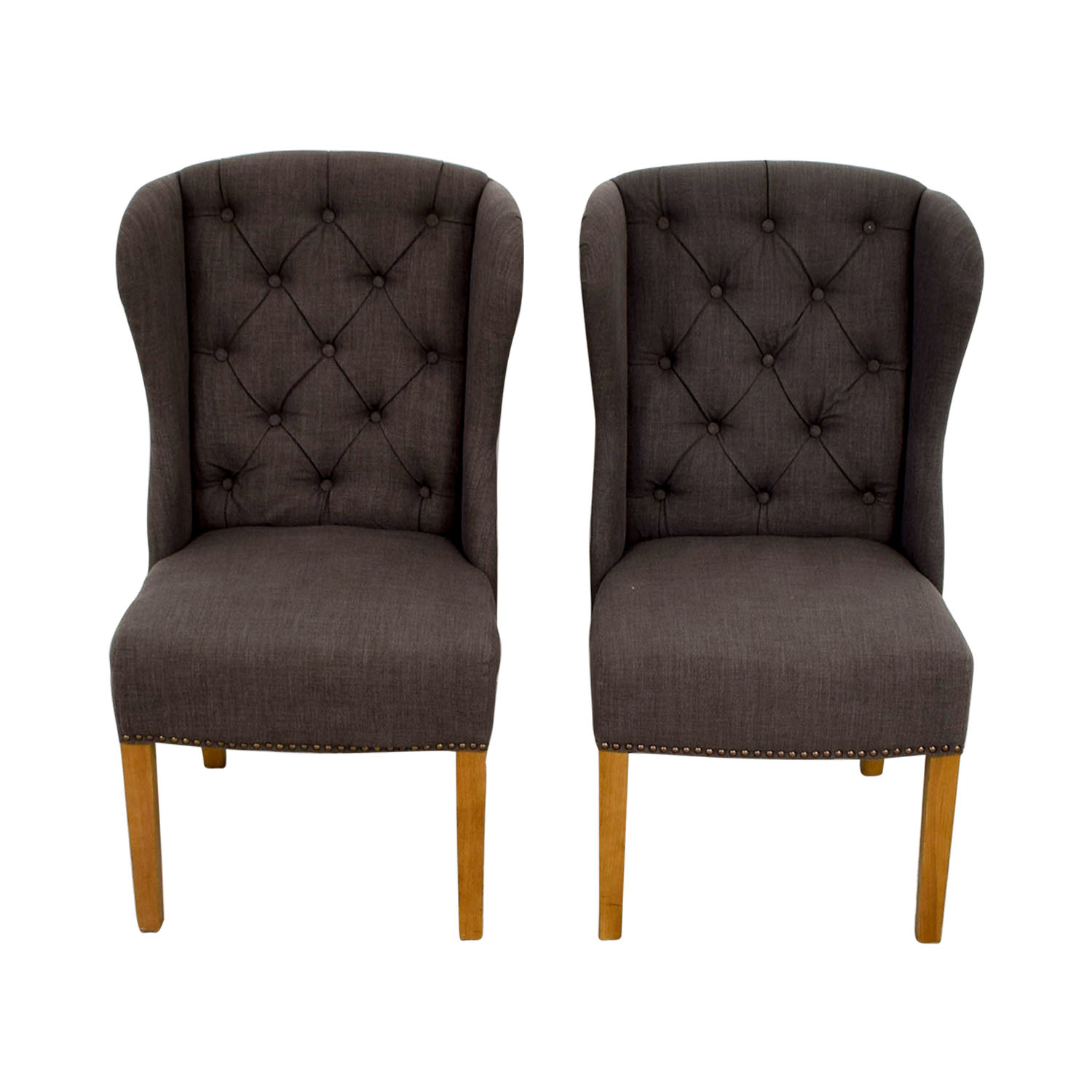 OFF Greyson Greyson Grey Tufted Chairs Chairs