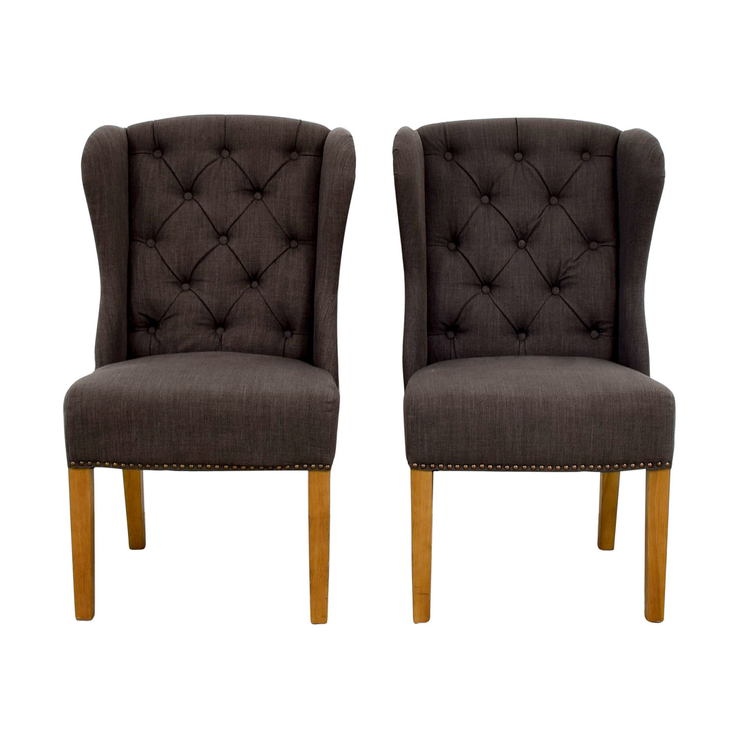 shop Greyson Greyson Grey Tufted Chairs online