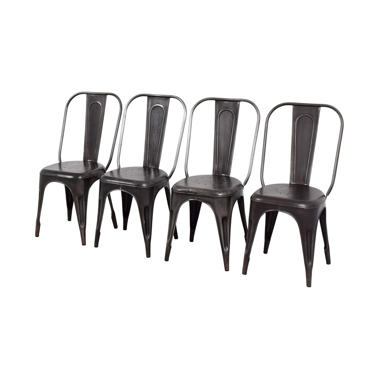 Arhaus Arhaus Bryant Dining Side Chairs nyc