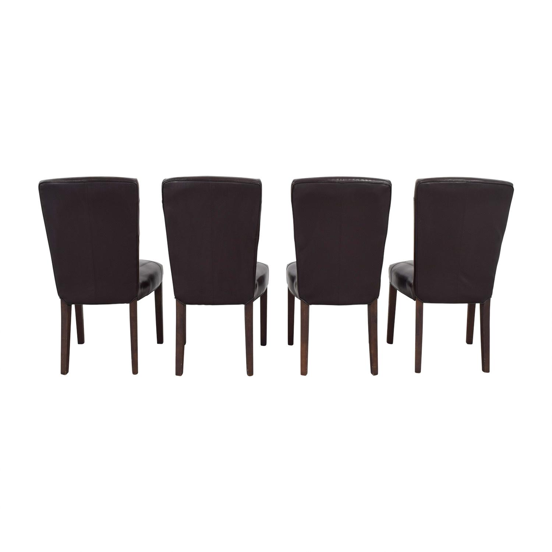 Arhaus Arhaus Capri Brown Chairs dimensions