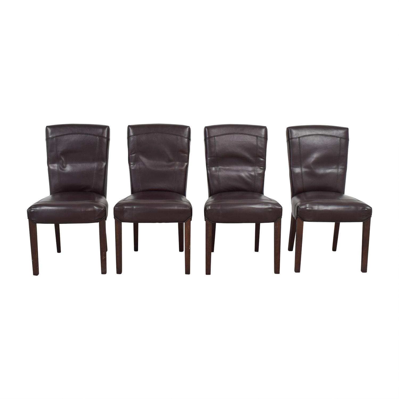 Arhaus Arhaus Capri Brown Chairs second hand