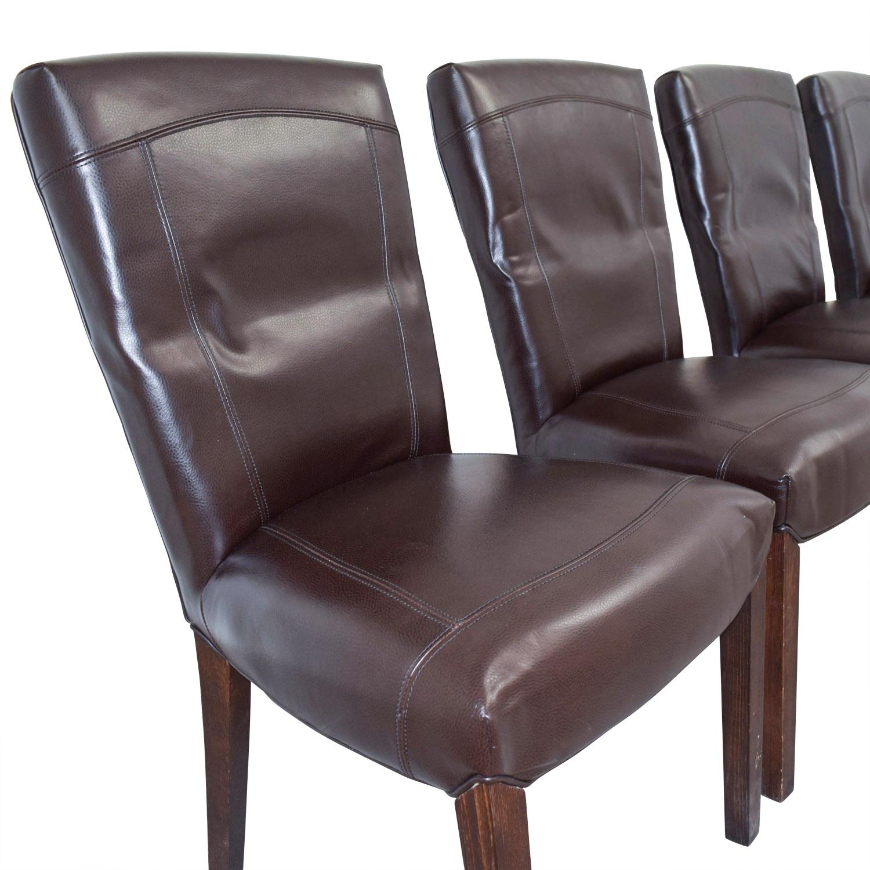 shop Arhaus Capri Brown Chairs Arhaus Accent Chairs
