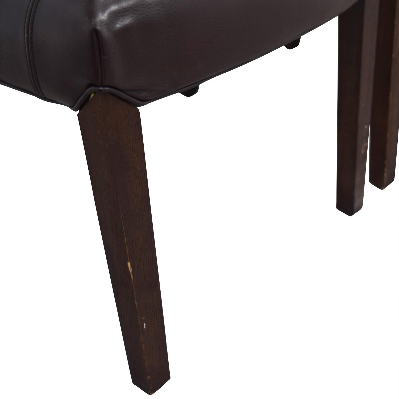 Arhaus Arhaus Capri Brown Chairs