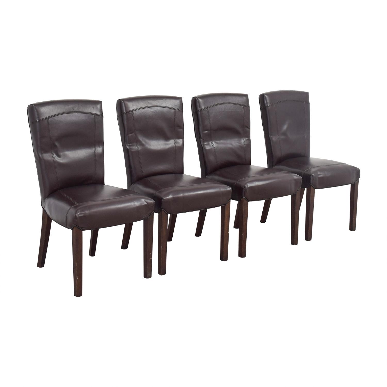 Arhaus Arhaus Capri Brown Chairs for sale