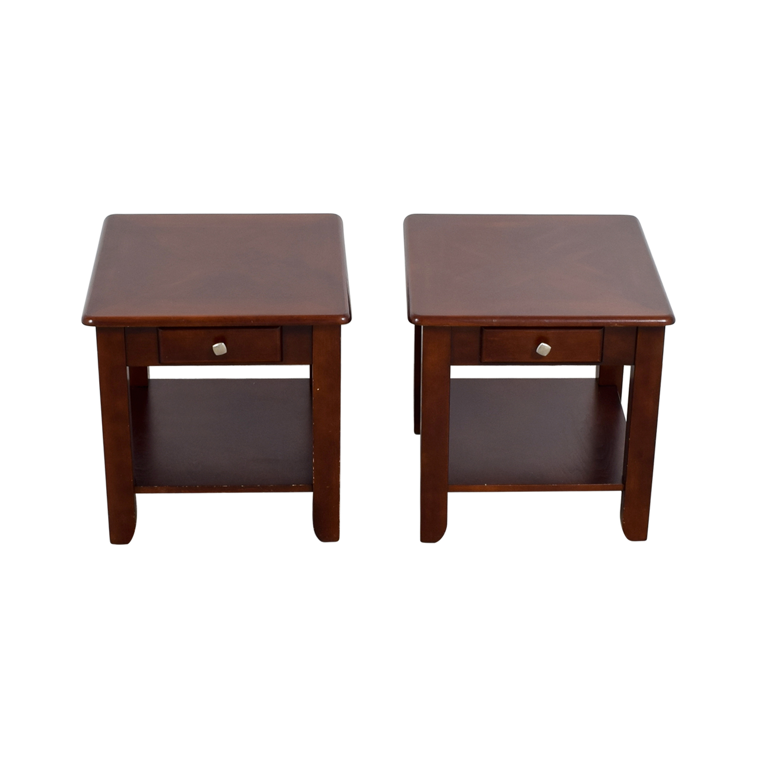 Raymour & Flanigan Raymour & Flanigan End Table set dimensions