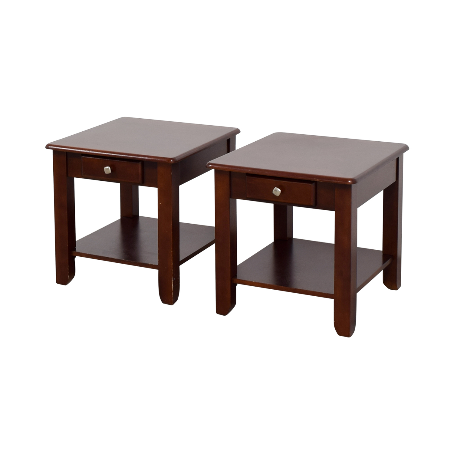 82 Off Raymour Flanigan Raymour Flanigan End Table Set Tables
