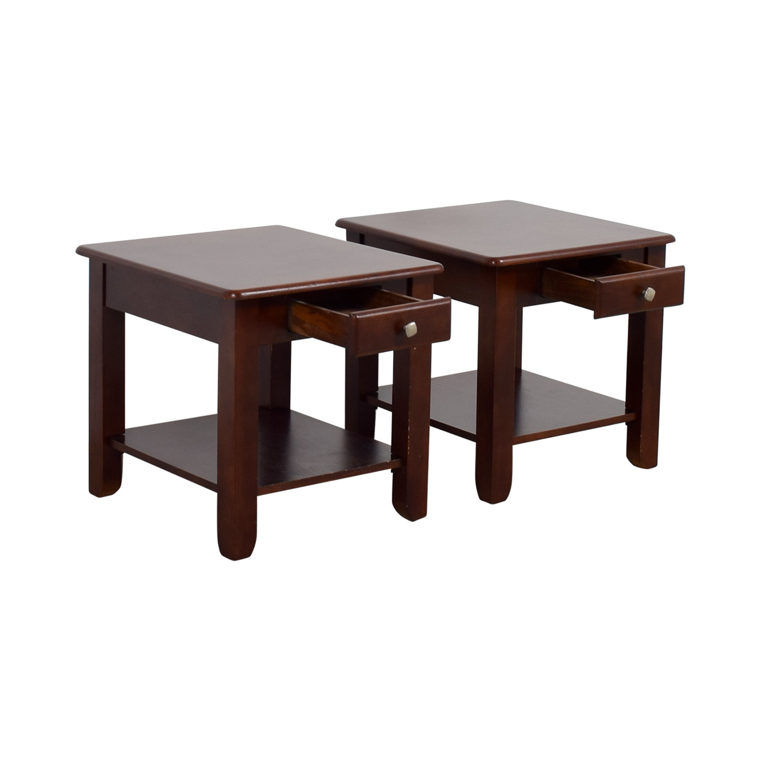 shop Raymour & Flanigan End Table set Raymour & Flanigan End Tables