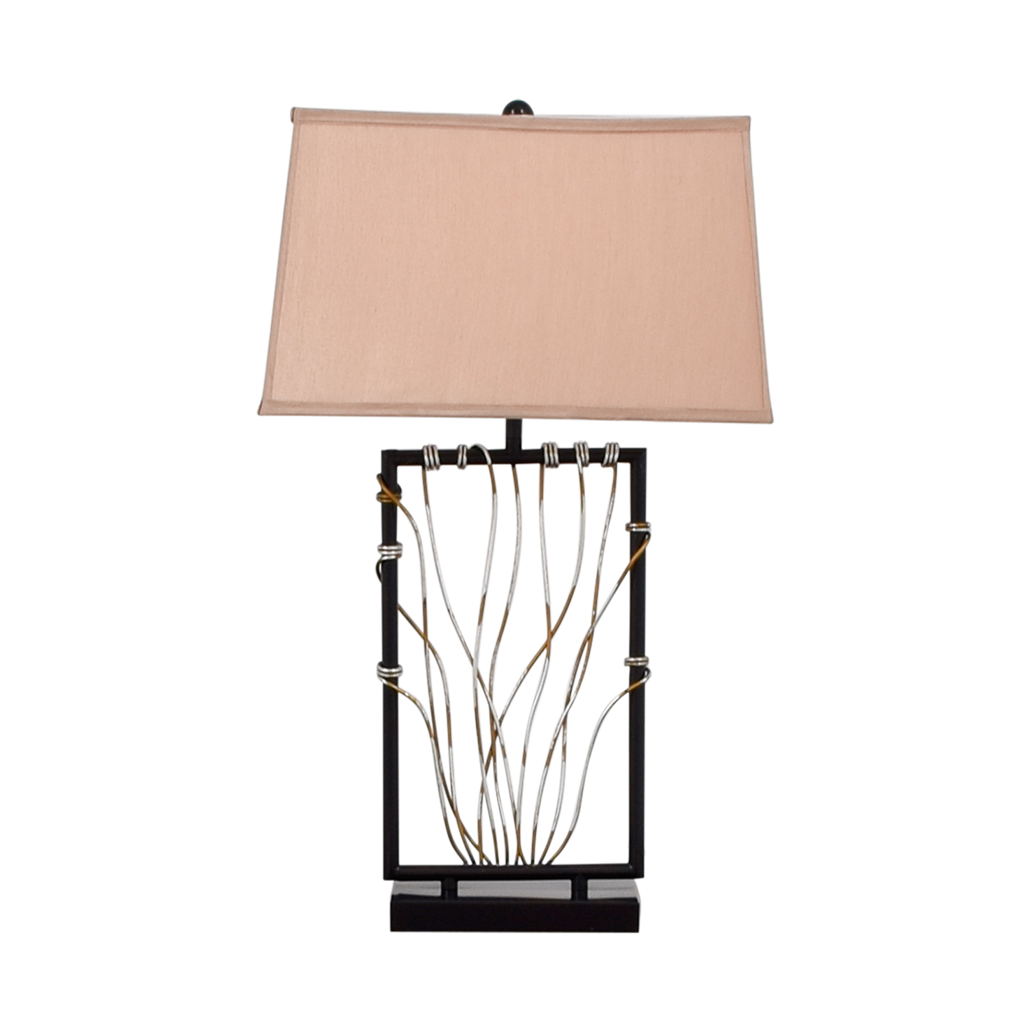 shop Raymour & Flanigan Wire Lamp Raymour & Flanigan