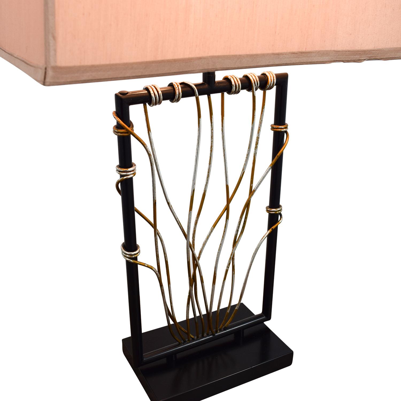 Raymour & Flanigan Raymour & Flanigan Wire Lamp nj