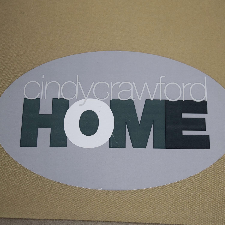 Raymour & Flanigan Raymour & Flanigan Cindy Crawford Home Gray Microfiber Sectional