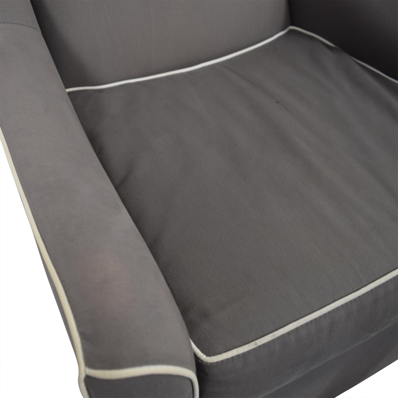 shop DaVinci Olive Grey Slider and Ottoman DaVinci Olive Chairs
