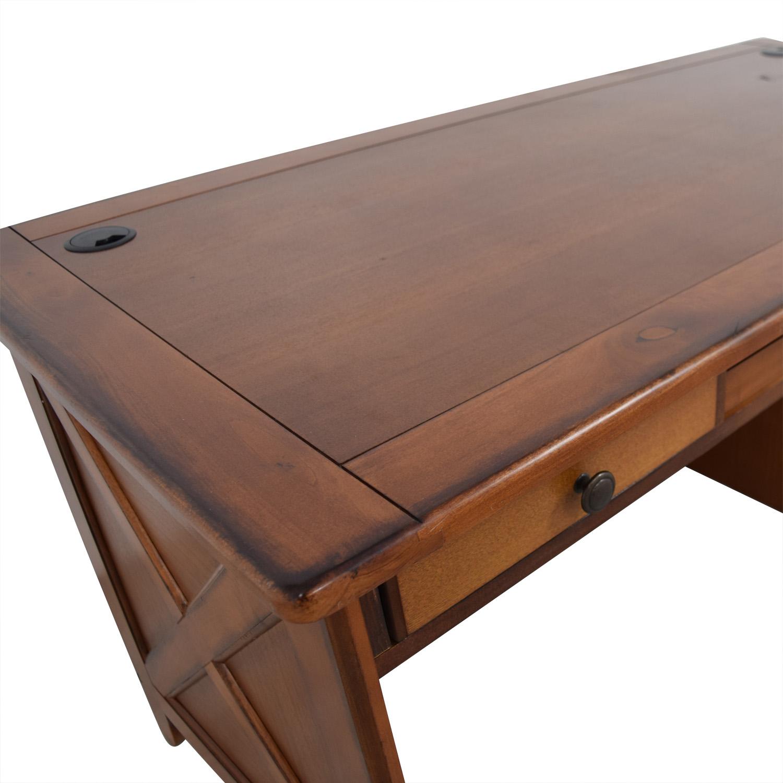 Wood Desk in Warm Walnut Finish coupon