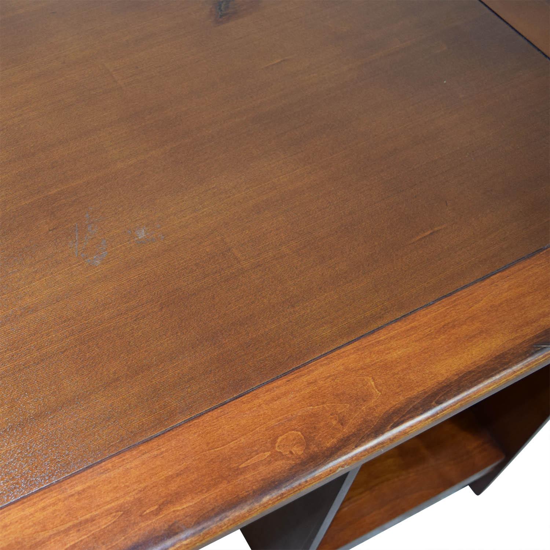 buy Wood Desk in Warm Walnut Finish Tables