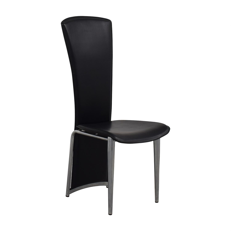 buy High Back Black Chair
