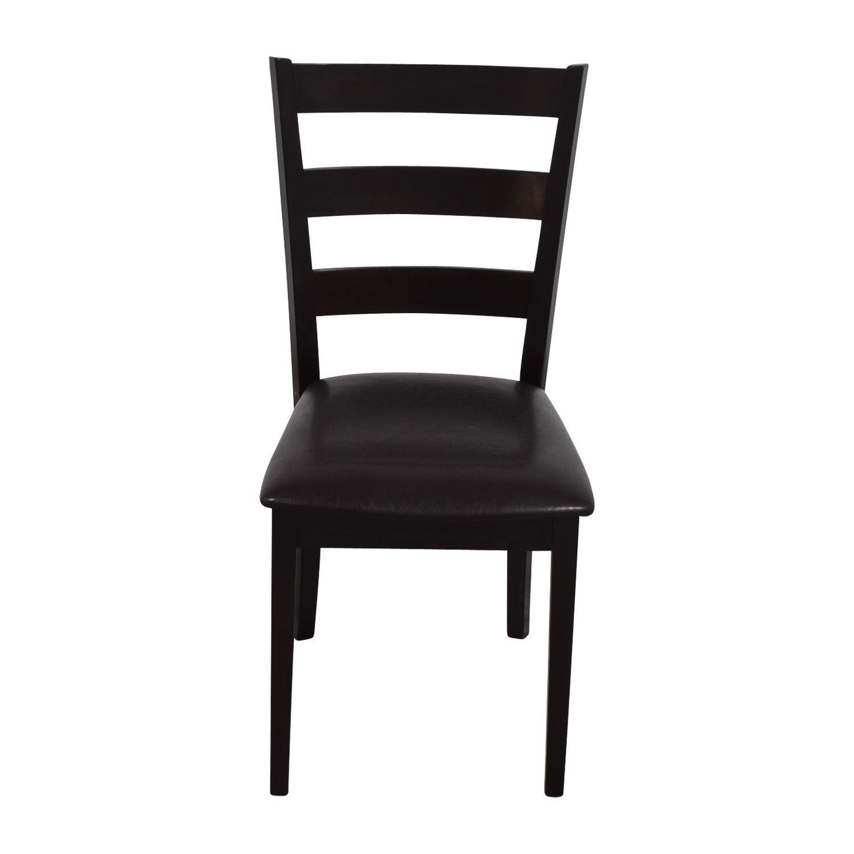 Brown Wood Chair nyc