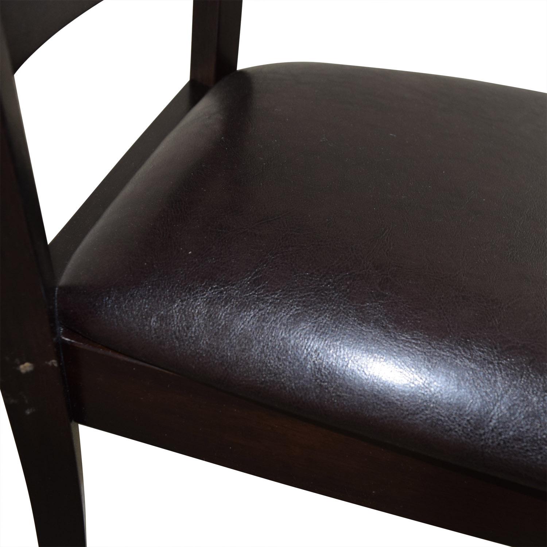 Brown Wood Chair nj