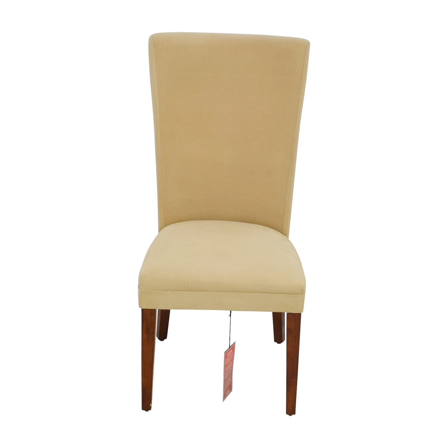Coaster Coaster High Back Tan Upholstered Chair on sale
