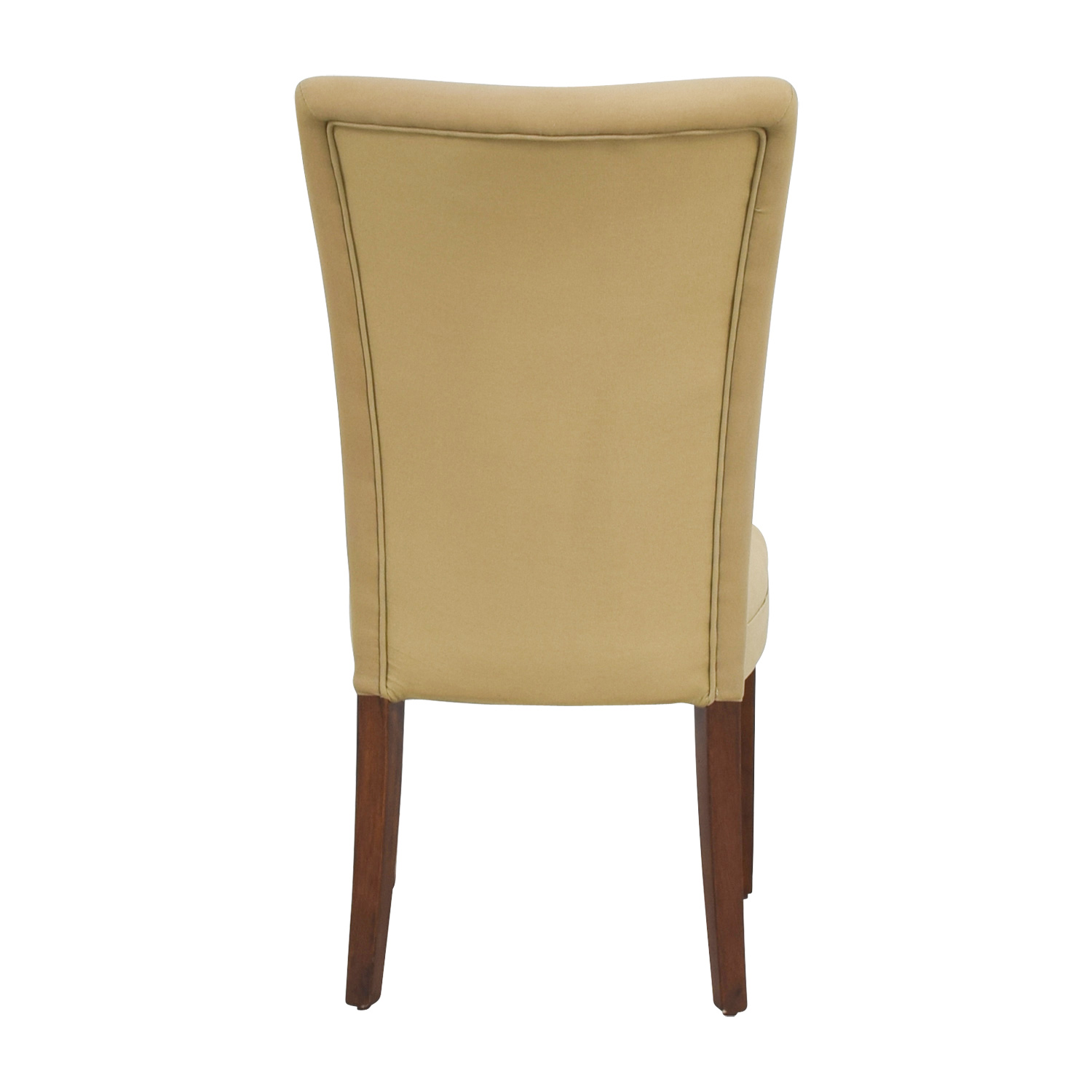 buy Coaster High Back Tan Upholstered Chair Coaster