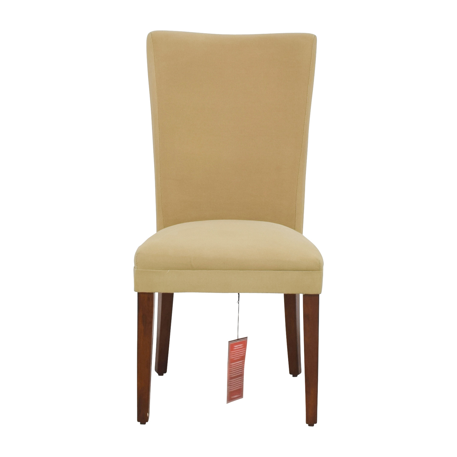 Coaster High Back Tan Upholstered Chair / Sofas