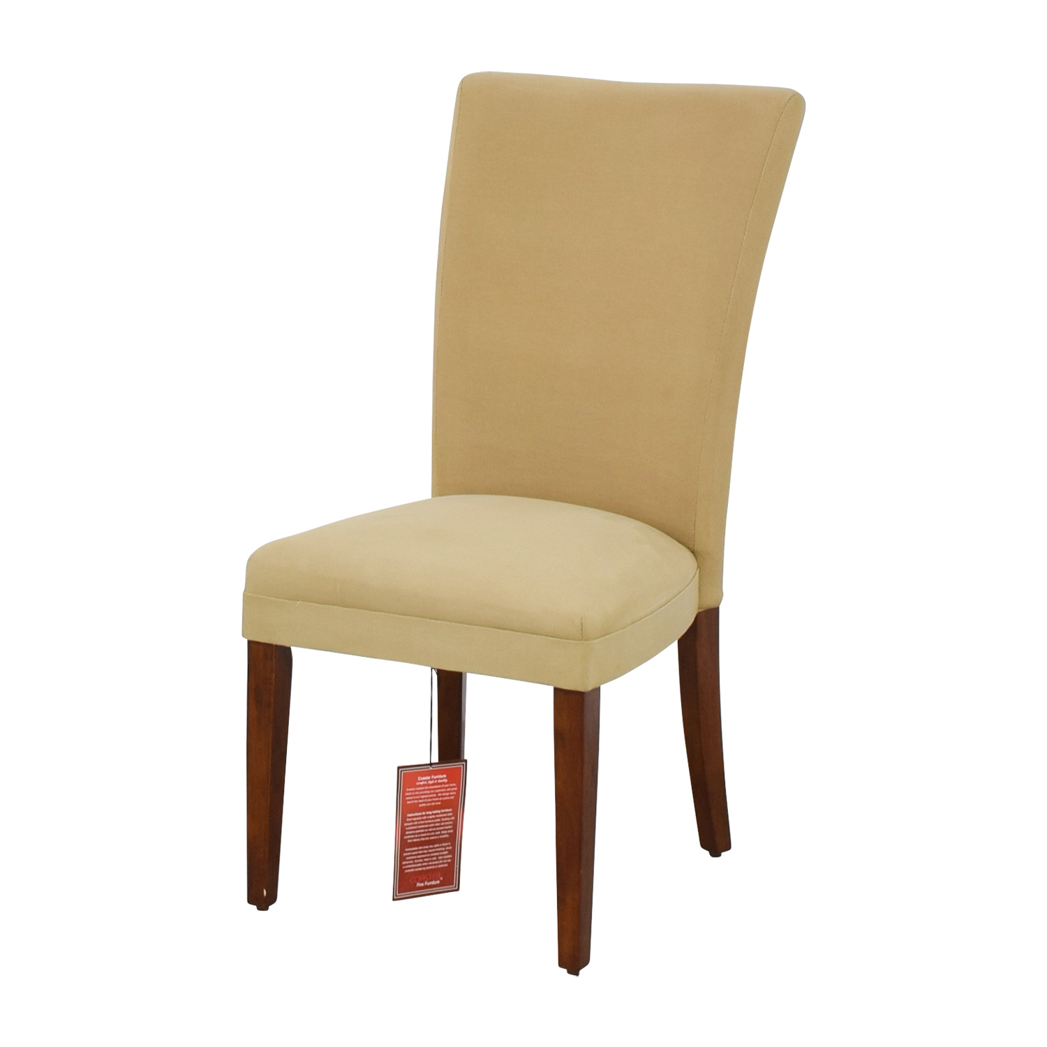 49 off coaster coaster high back tan upholstered chair chairs. Black Bedroom Furniture Sets. Home Design Ideas