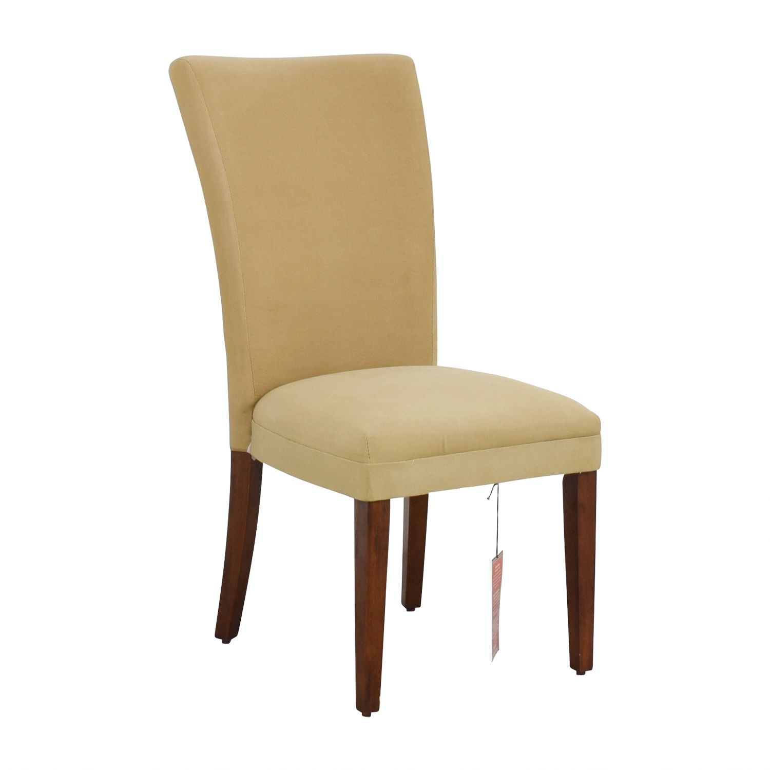 buy Coaster High Back Tan Upholstered Chair Coaster Dining Chairs