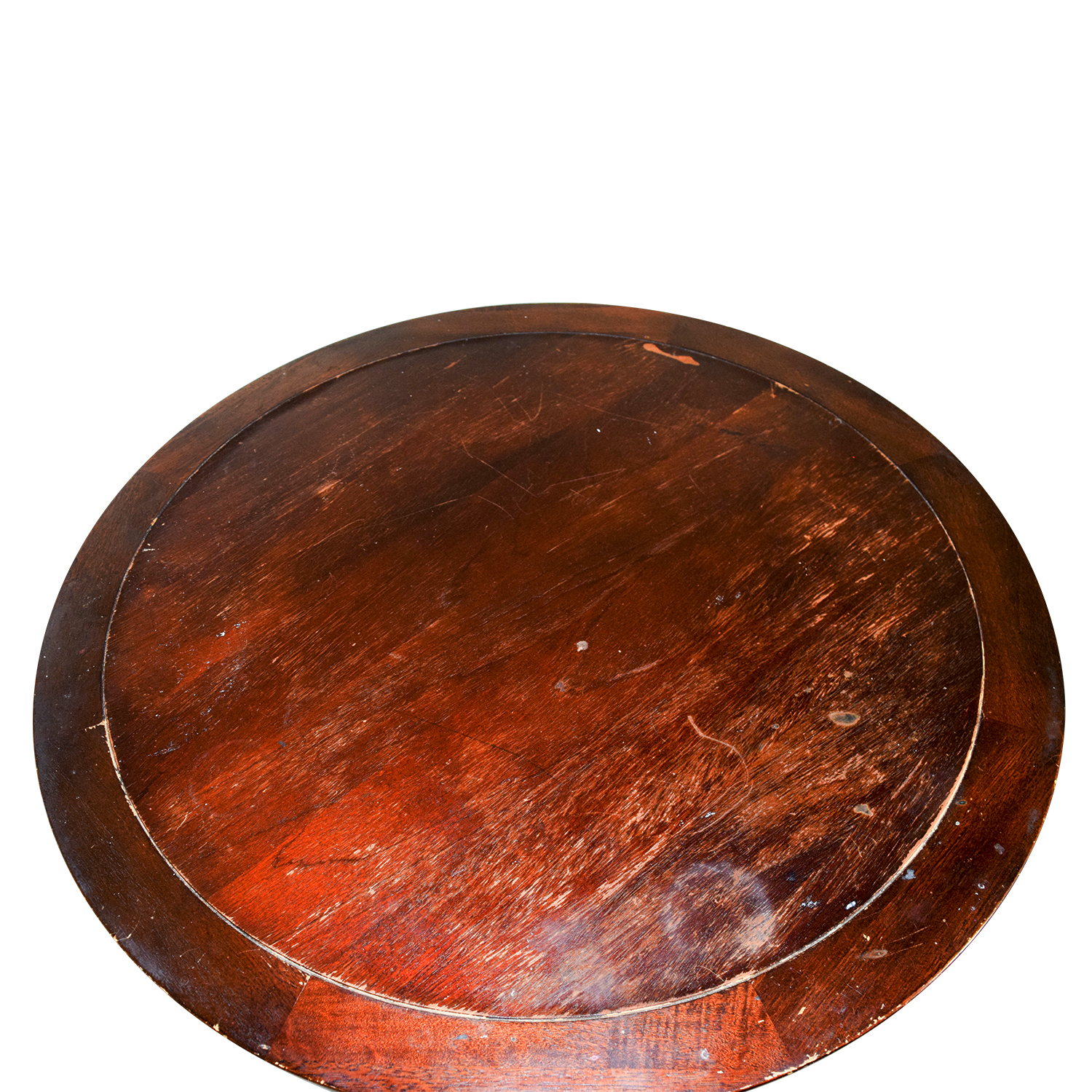 Wooden Round Coffee Table second hand