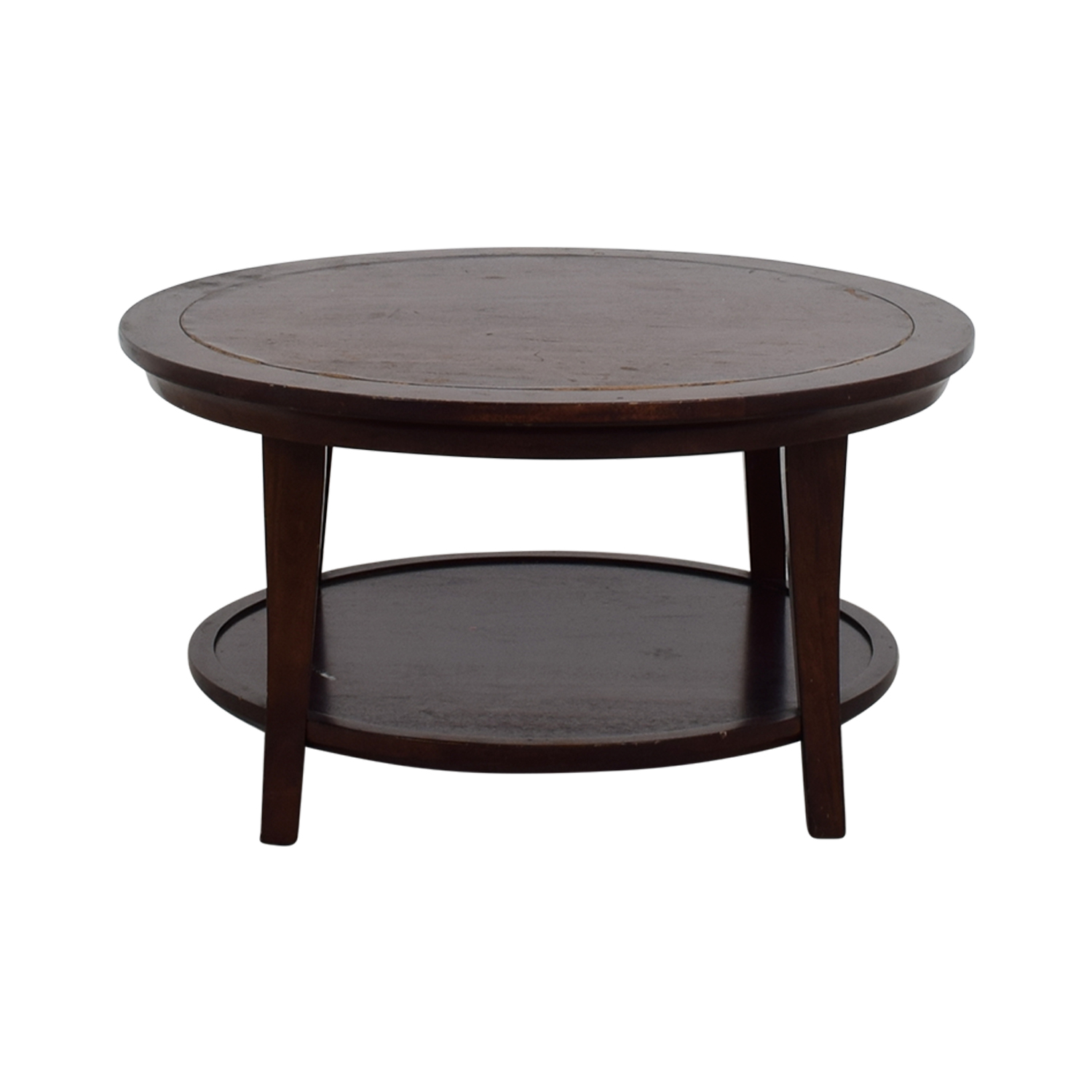 shop Wooden Round Coffee Table online