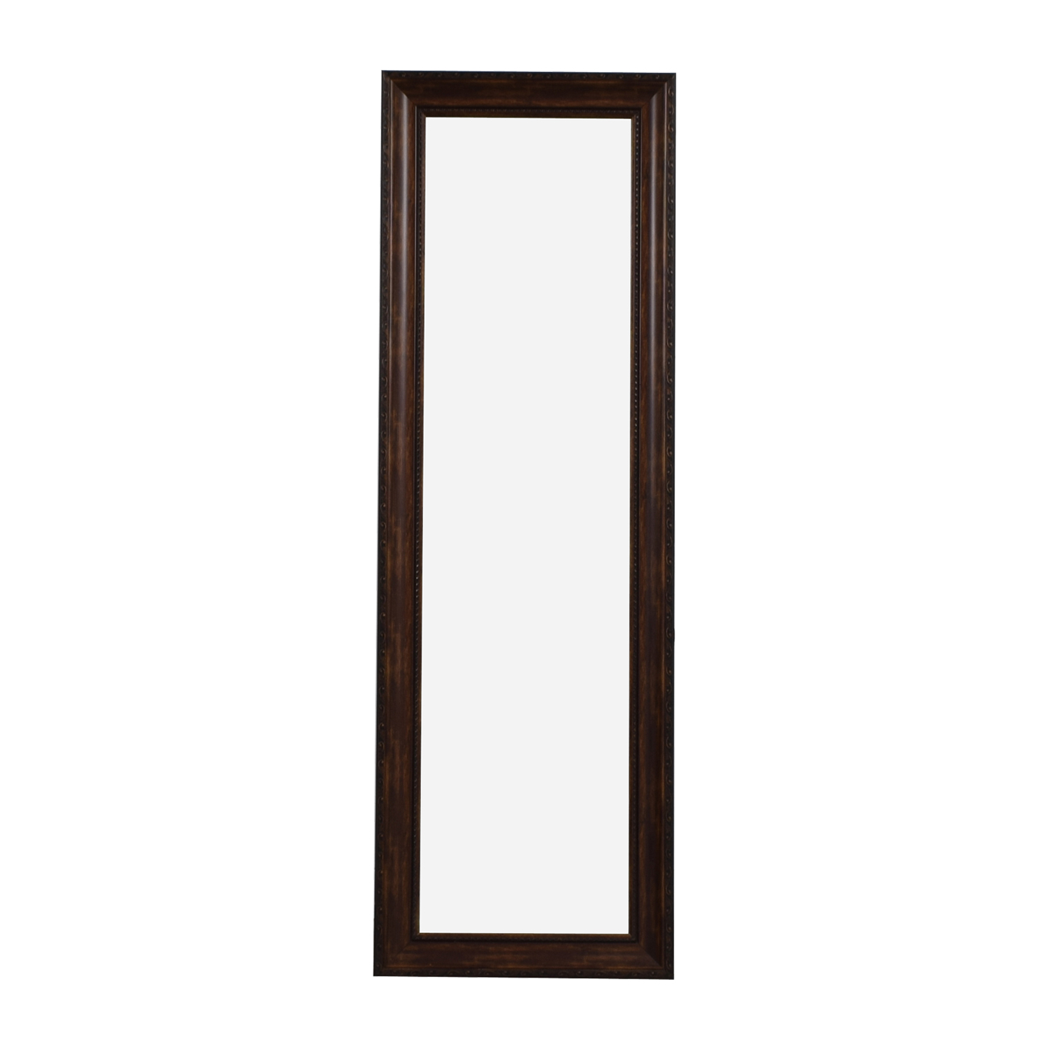 Wooden Mirror with Stand second hand