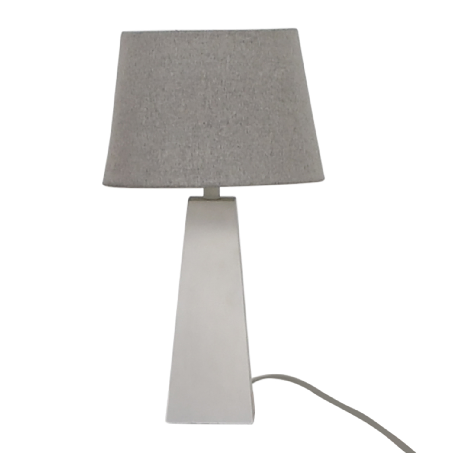 Target Target White Base with Silver Shade Lamp Lamps