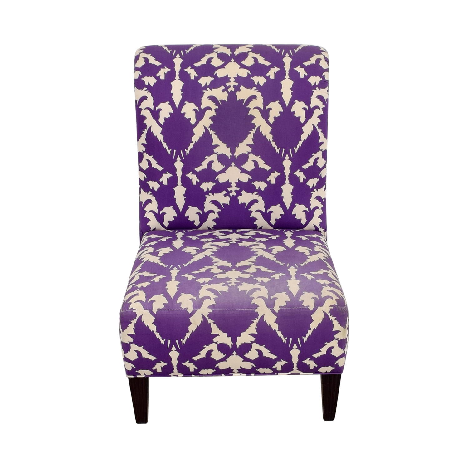 buy Baker Madeline Weintraub Purple Accent Chair Baker Accent Chairs