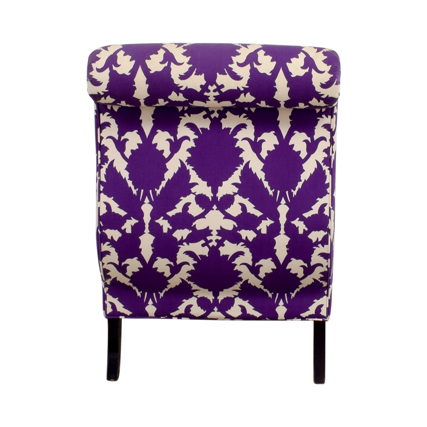 shop Baker Madeline Weintraub Purple Accent Chair Baker Chairs