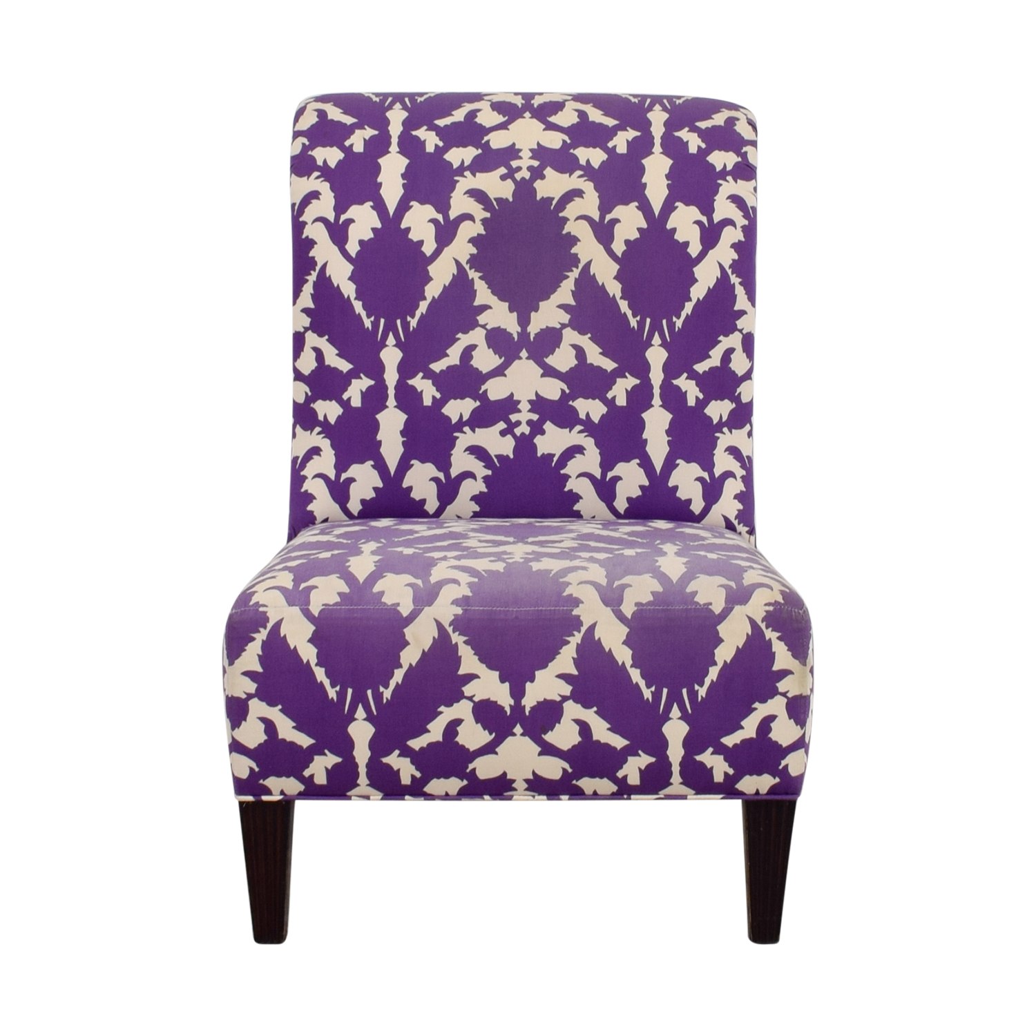 Baker Baker Madeline Weintraub Purple Accent Chair used