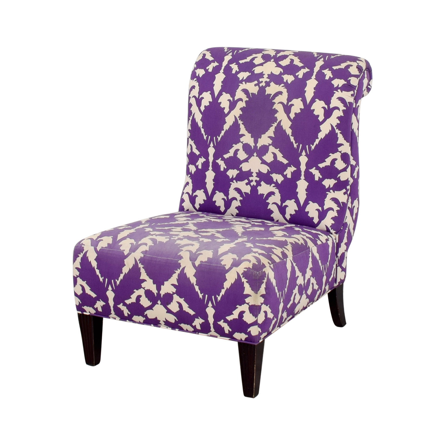 Baker Baker Madeline Weintraub Purple Accent Chair coupon
