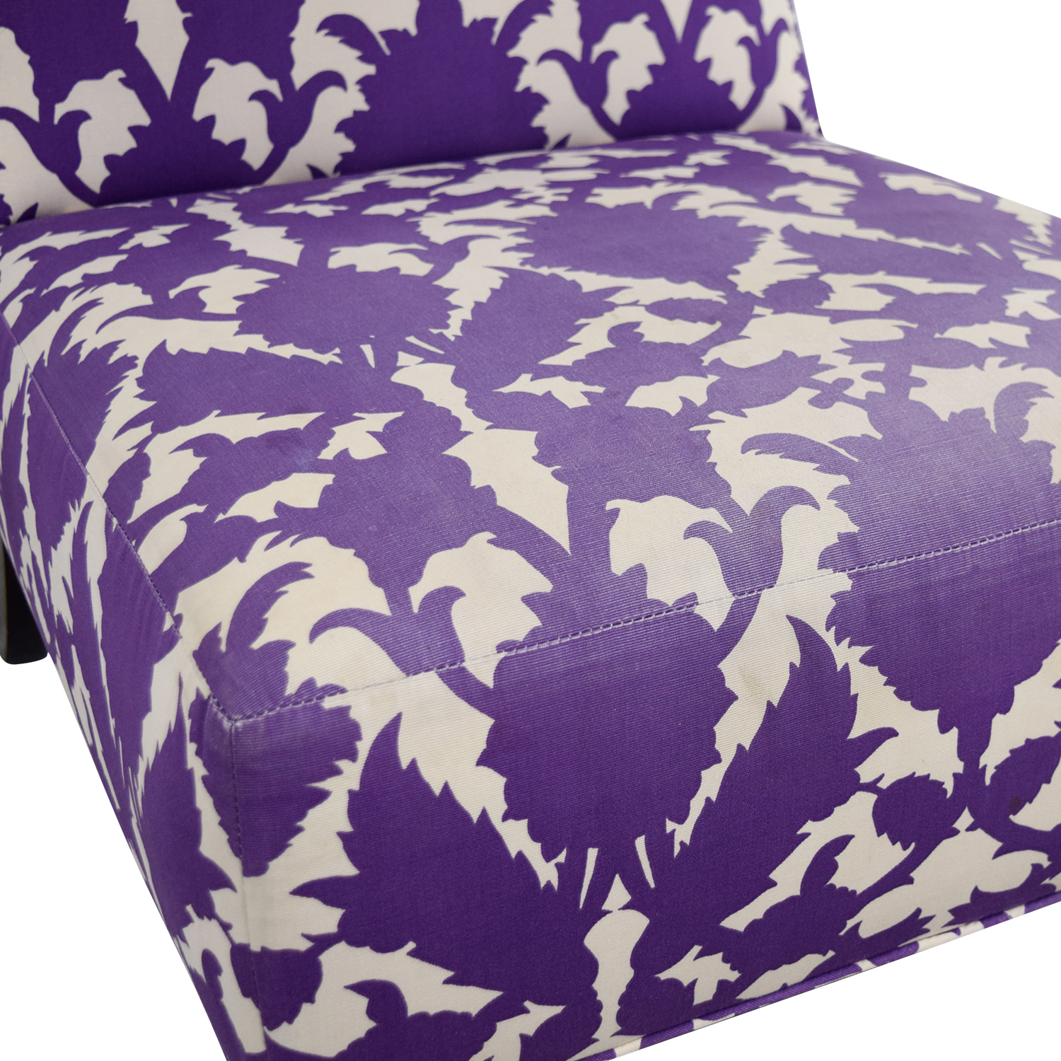 shop Baker Madeline Weintraub Purple Accent Chair Baker Accent Chairs