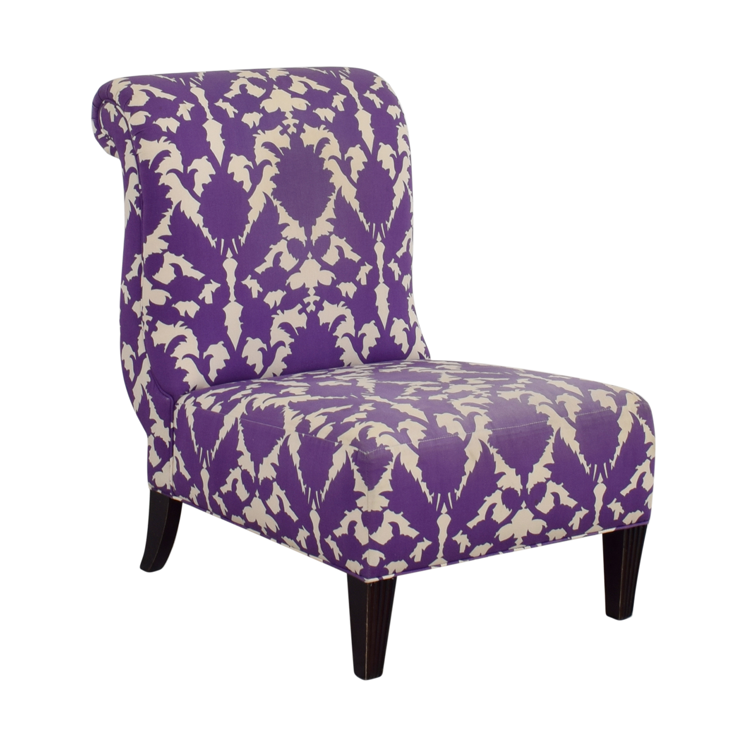 What Is An Accent Chair Used For: Baker Baker Madeline Weintraub Purple Accent
