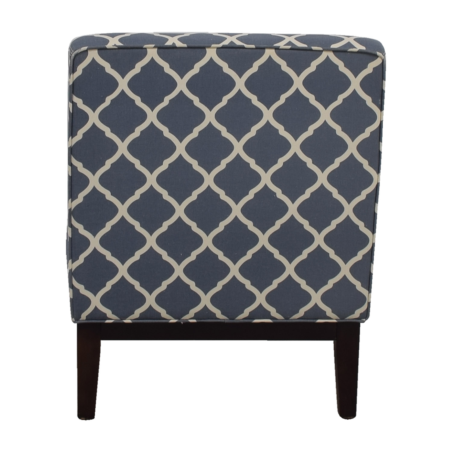 Joss and Main Blue and White Accent Chair sale