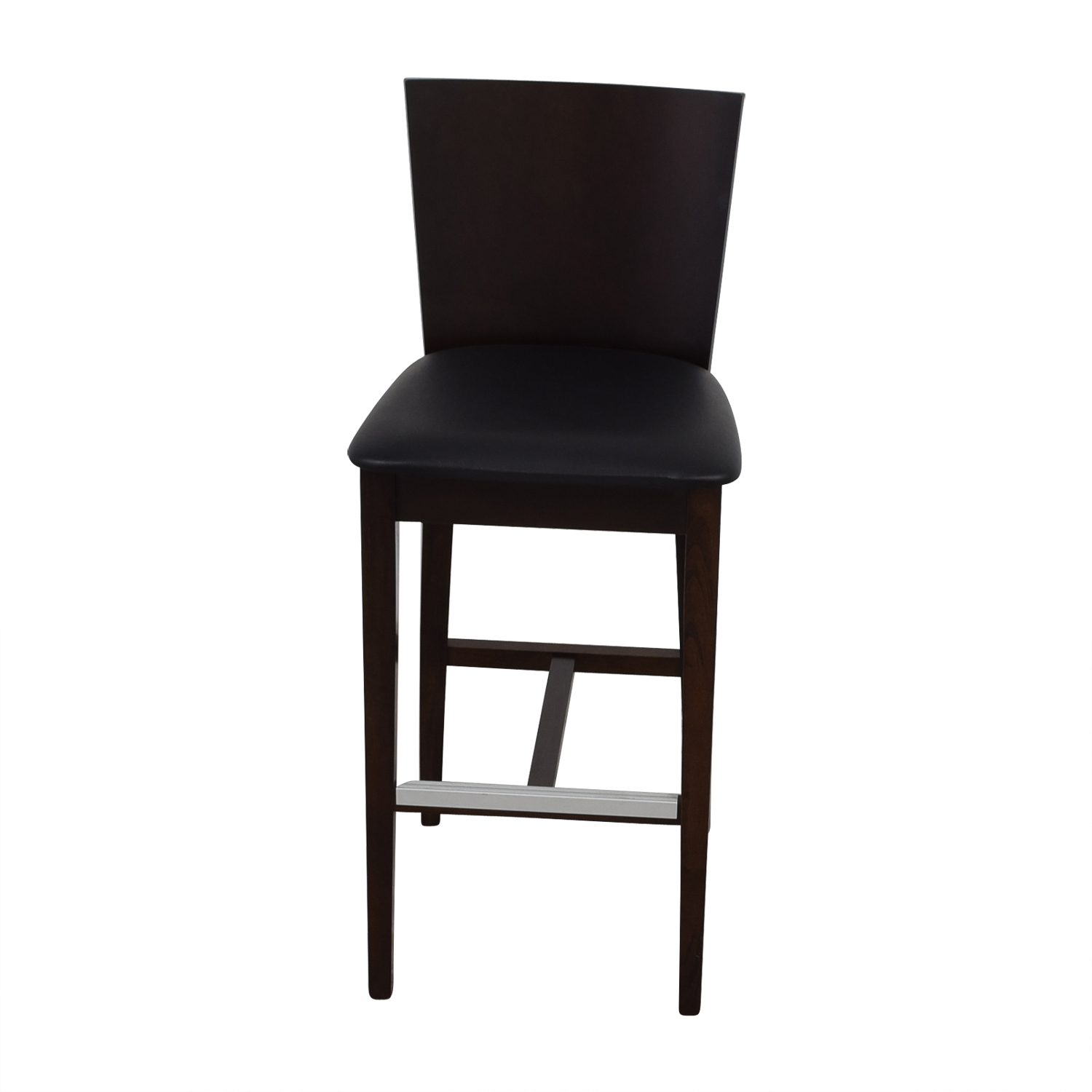 ... Buy Newspec Newspec Black And Cherry Wood Bar Chair Online ...