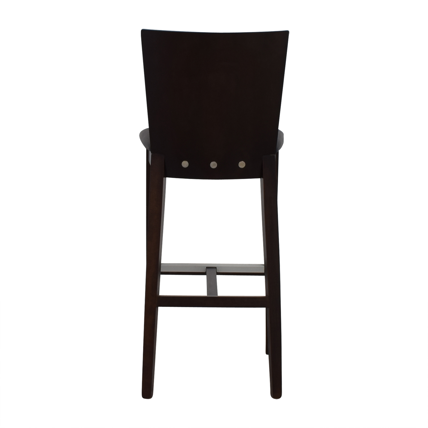 Newspec Newspec Black and Cherry Wood Bar Chair dimensions