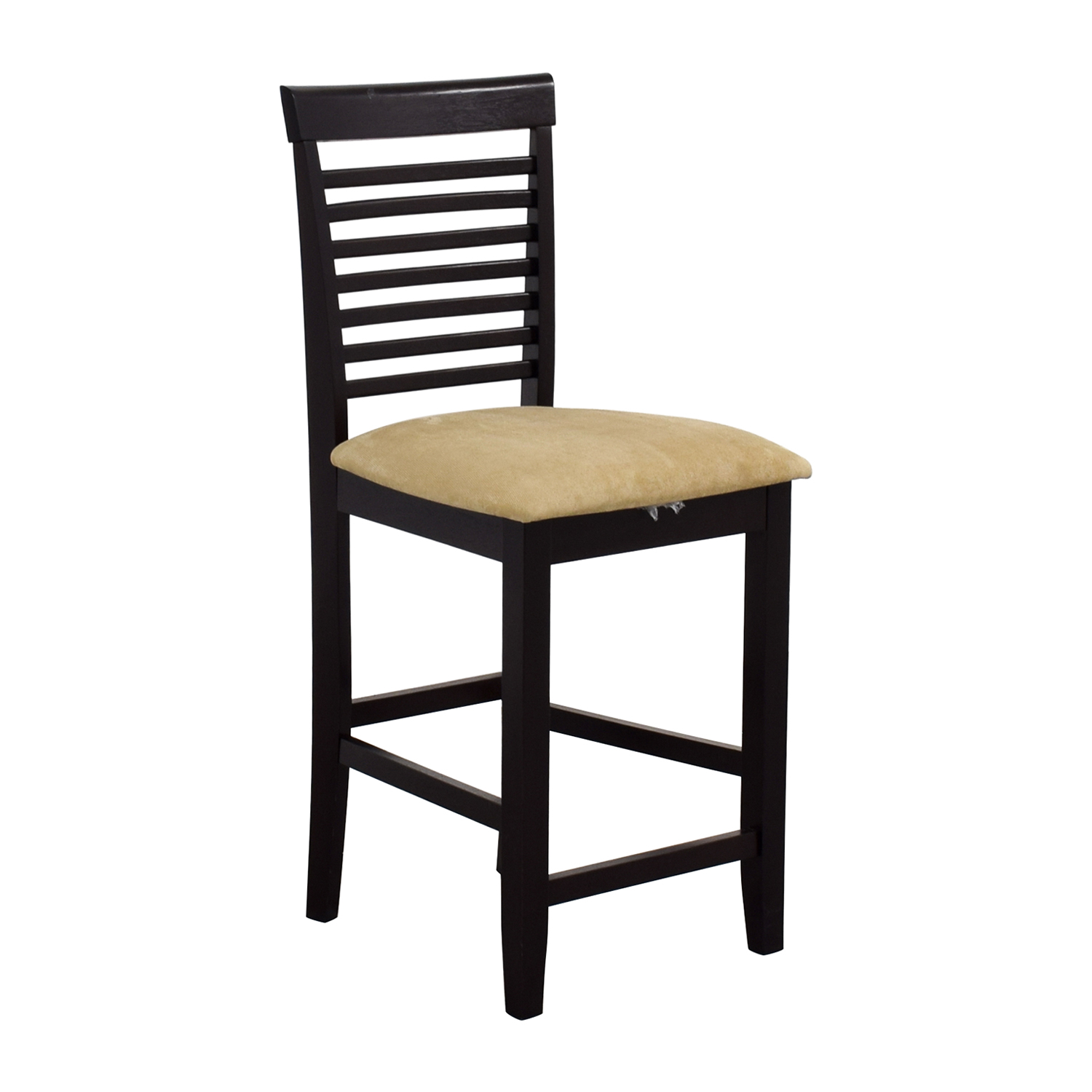 86 Off Tan Upholstered Counter Bar Stool Chairs