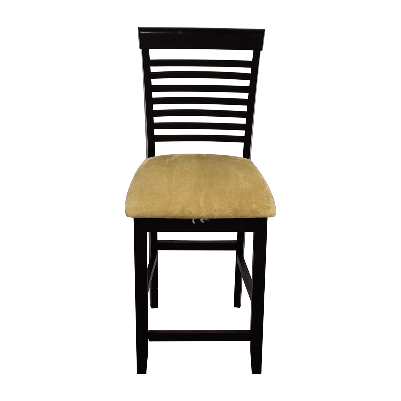 shop Tan Upholstered Counter Bar Stool