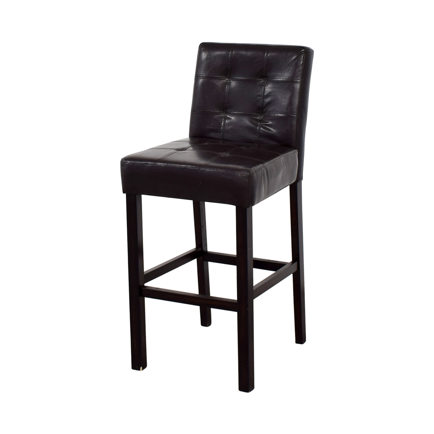 88 Off Tufted Bar Height Chair Chairs