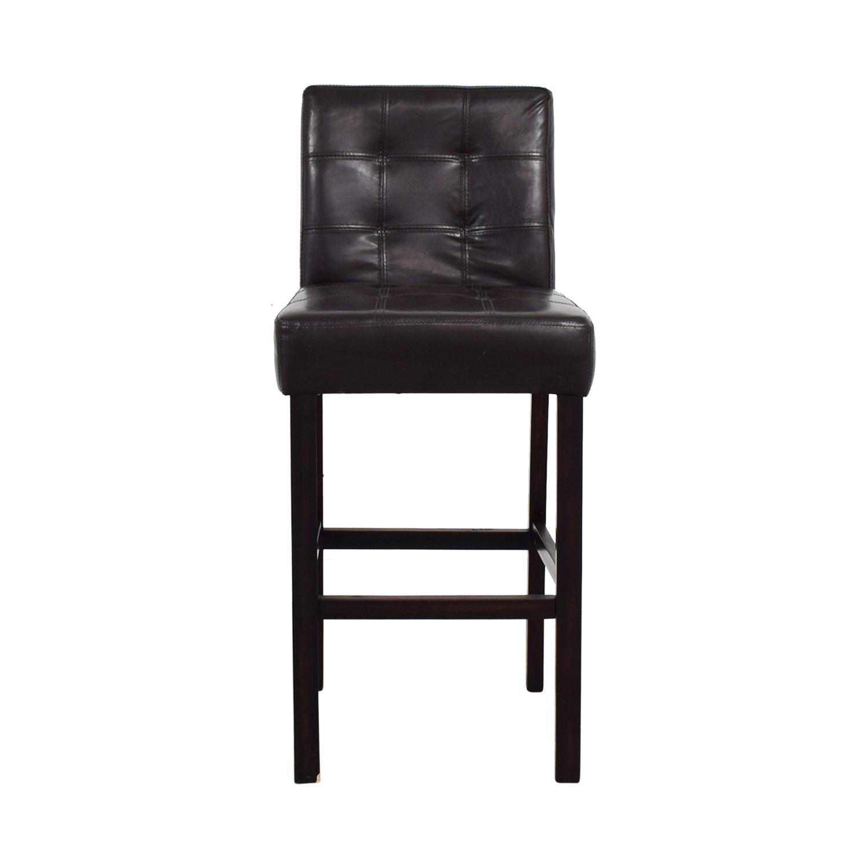 shop Tufted Bar Height Chair