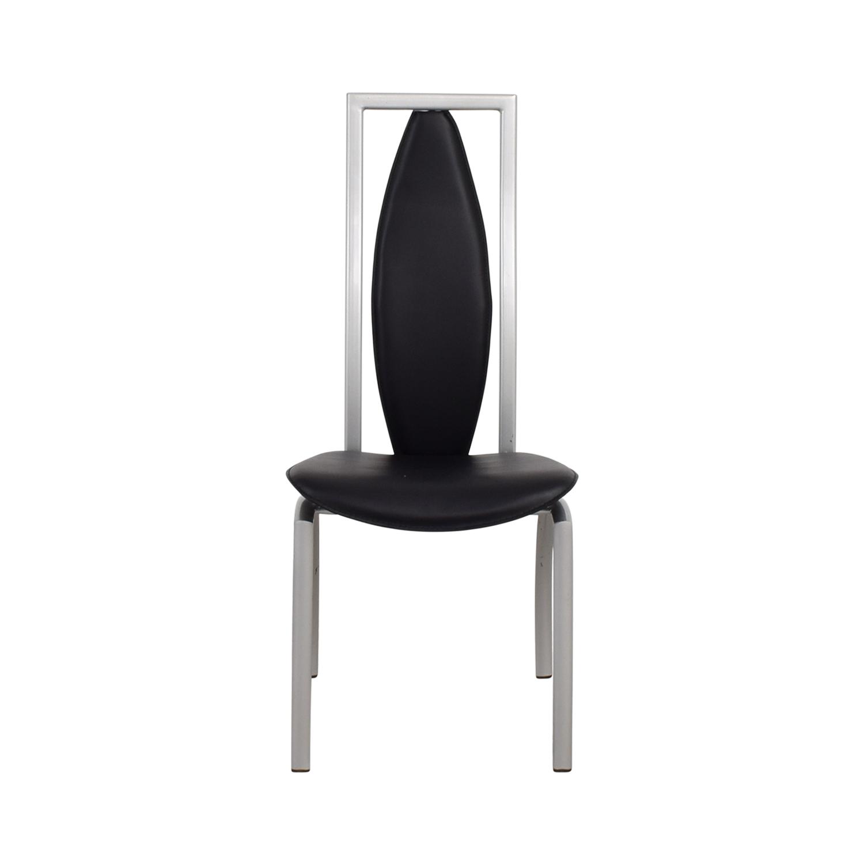 Art Deco Black Chair