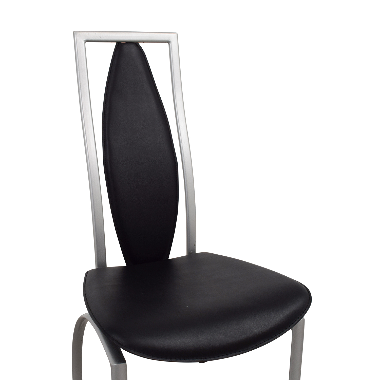 Art Deco Black Chair discount