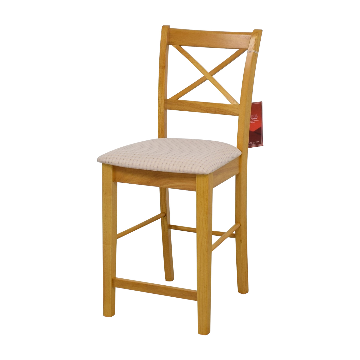Coaster Coaster Maple Counter Height Chair with Padded Seat price